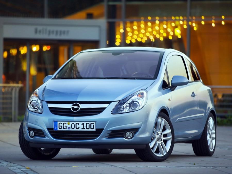 Opel Corsa хетчбэк 3-дв., 2006–2011, D - отзывы, фото и характеристики на Car.ru
