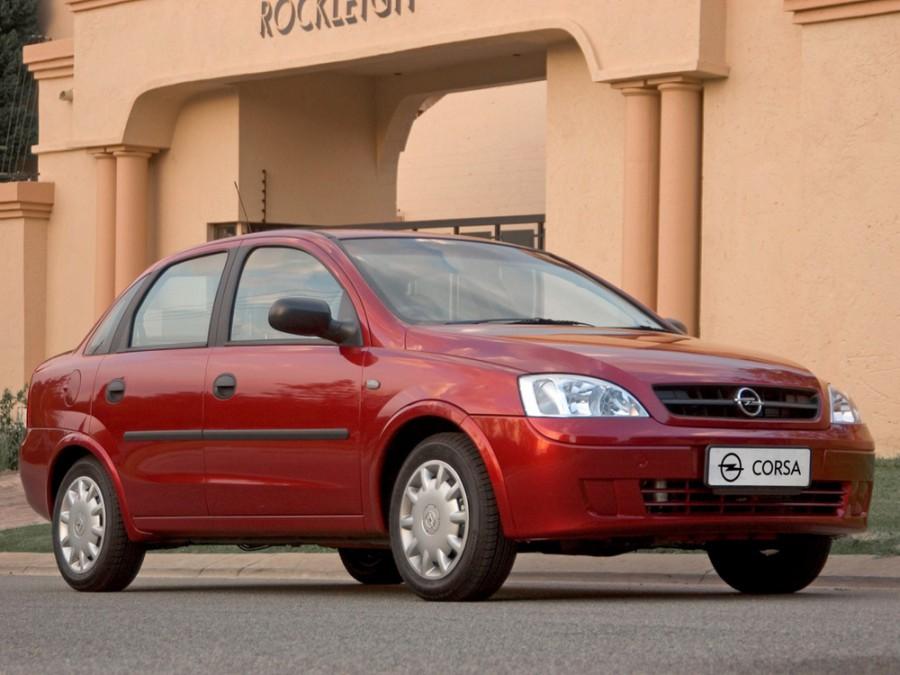 Opel Corsa седан, 2003–2006, C [рестайлинг] - отзывы, фото и характеристики на Car.ru