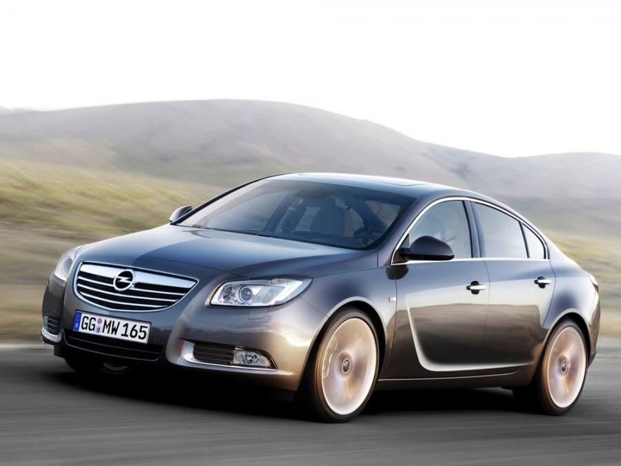Opel Insignia лифтбэк 5-дв., 2008–2016, 1 поколение - отзывы, фото и характеристики на Car.ru