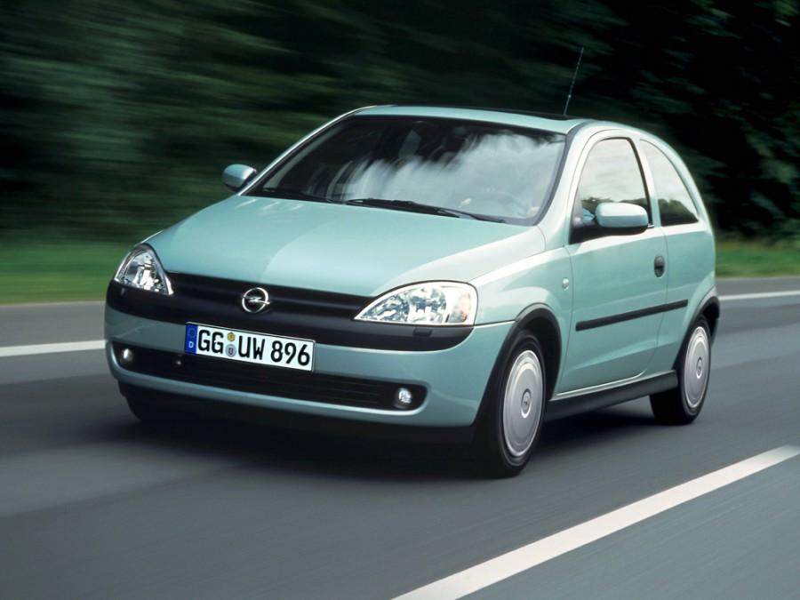 Opel Corsa хетчбэк 3-дв., 2000–2003, C - отзывы, фото и характеристики на Car.ru