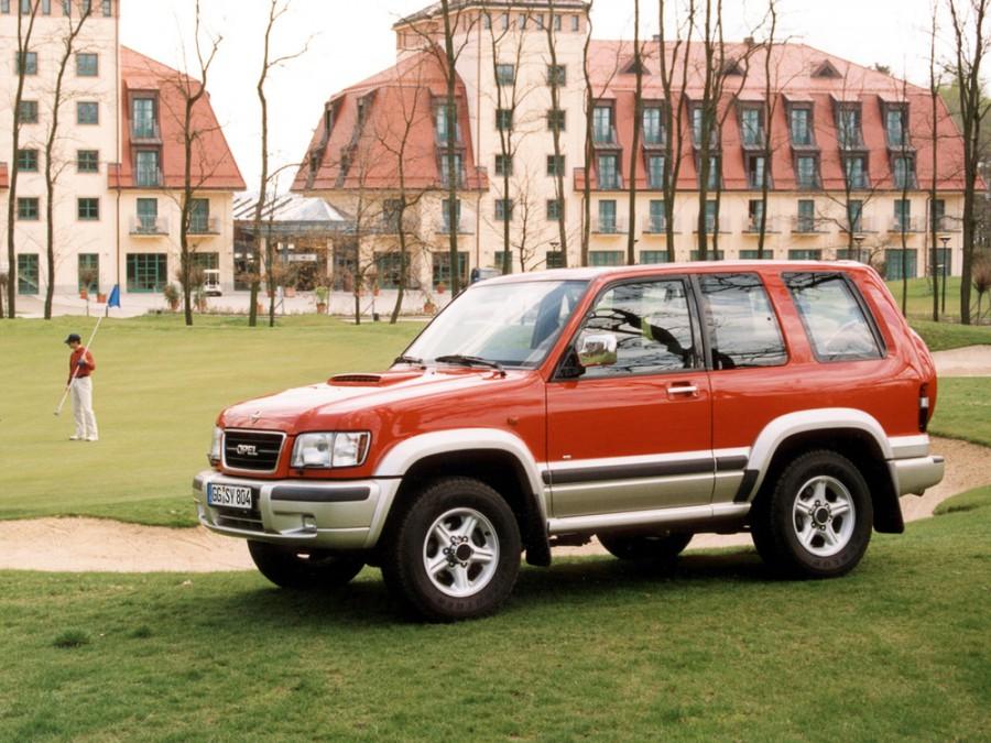 Opel Monterey внедорожник 3-дв., 1998–1999, 1 поколение [рестайлинг] - отзывы, фото и характеристики на Car.ru