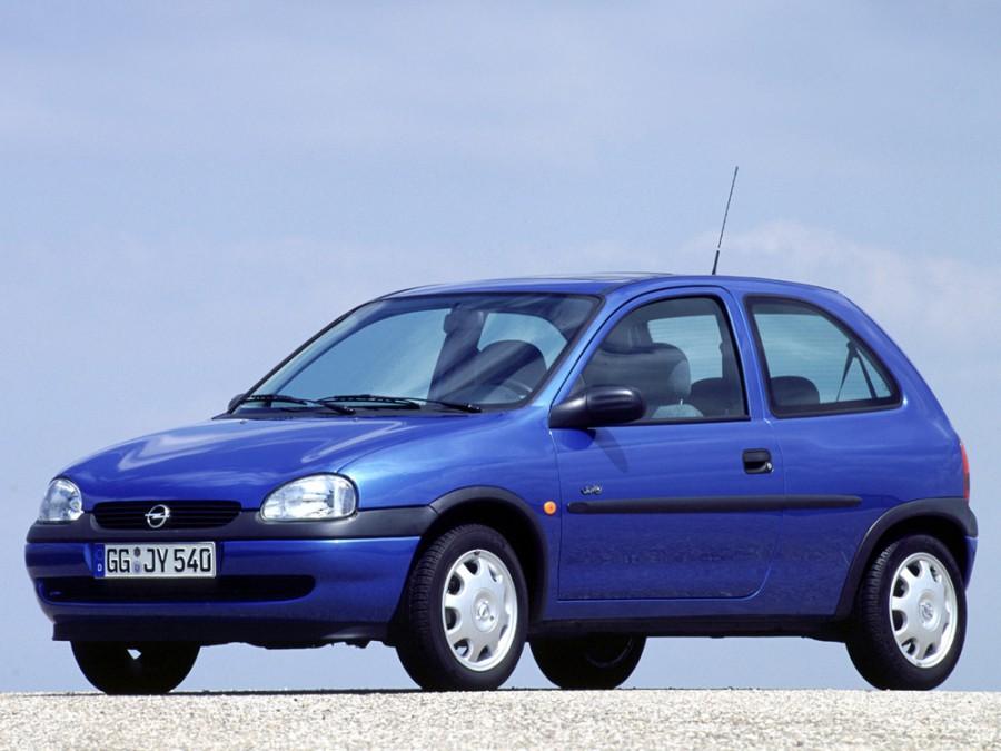 Opel Corsa хетчбэк 3-дв., 1997–2000, B [рестайлинг] - отзывы, фото и характеристики на Car.ru