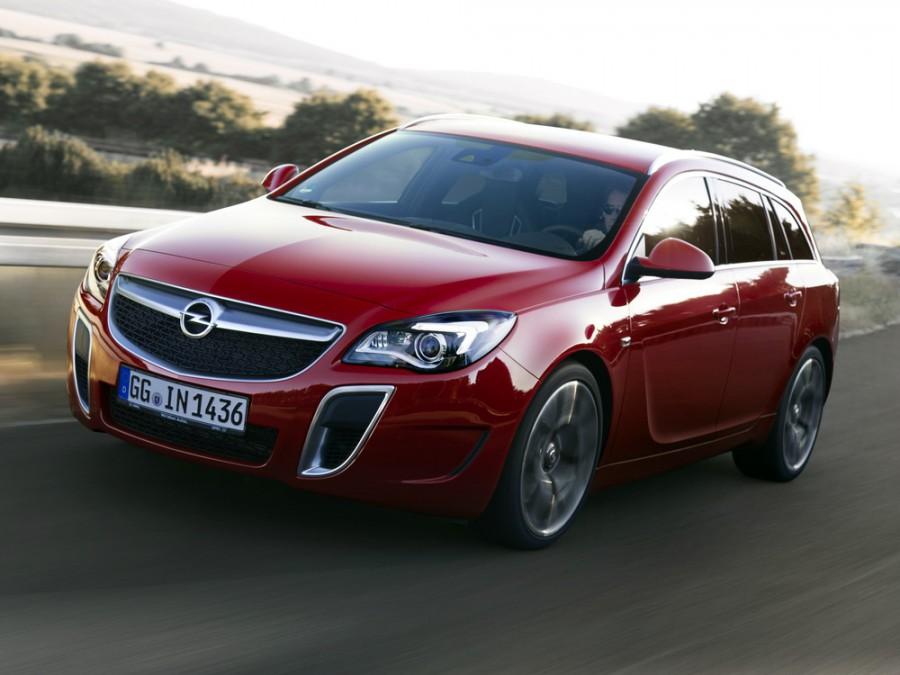 Opel Insignia OPC Sports Tourer универсал 5-дв., 2013–2016, 1 поколение [рестайлинг] - отзывы, фото и характеристики на Car.ru
