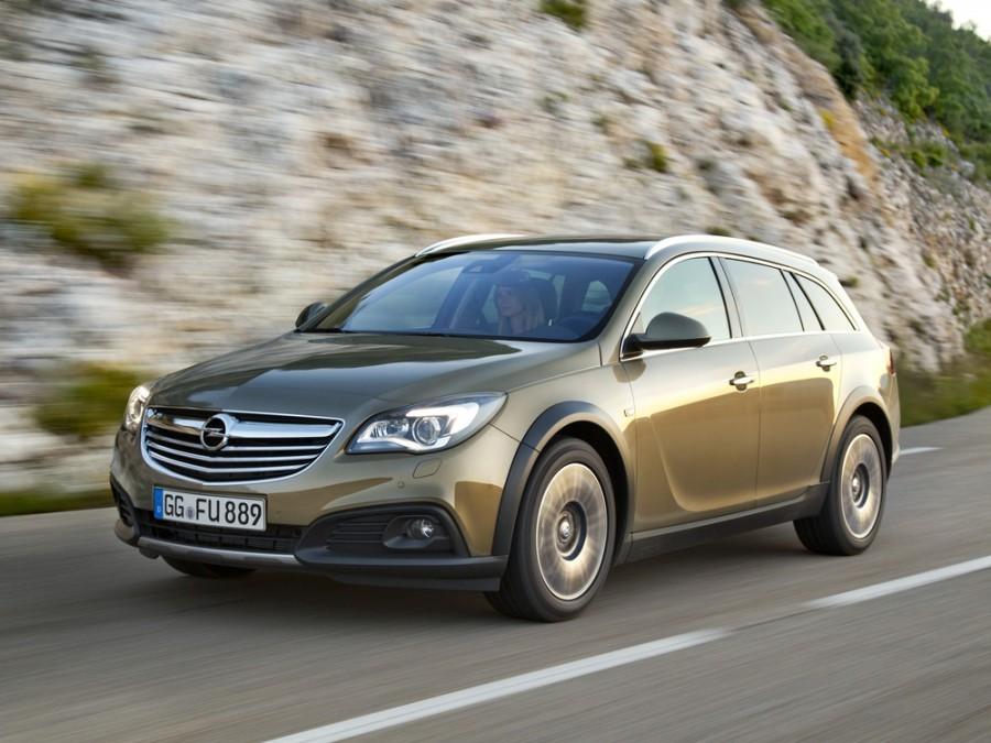 Opel Insignia Country Tourer универсал 5-дв., 2013–2016, 1 поколение [рестайлинг] - отзывы, фото и характеристики на Car.ru