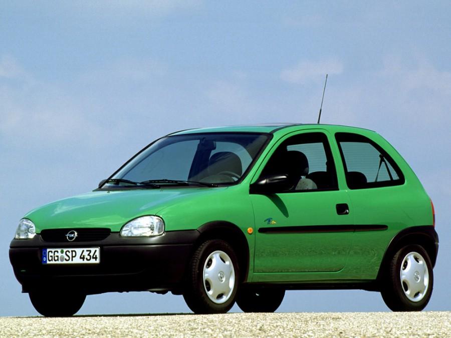 Opel Corsa хетчбэк 3-дв., 1993–2000, B - отзывы, фото и характеристики на Car.ru