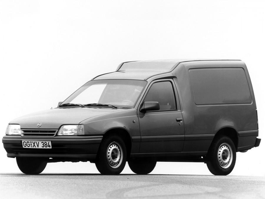 Opel Kadett Combo фургон, E [рестайлинг] - отзывы, фото и характеристики на Car.ru