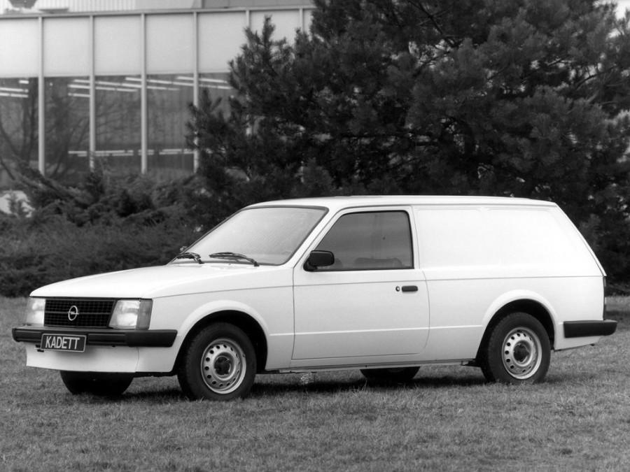 Opel Kadett фургон, 1979–1984, D - отзывы, фото и характеристики на Car.ru