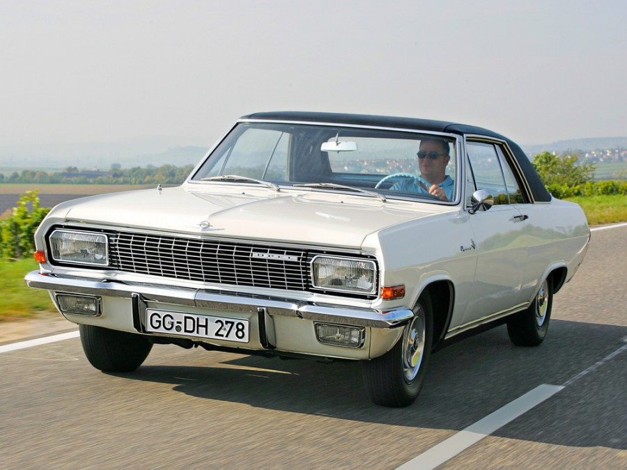 Opel Diplomat купе, 1964–1968, A - отзывы, фото и характеристики на Car.ru