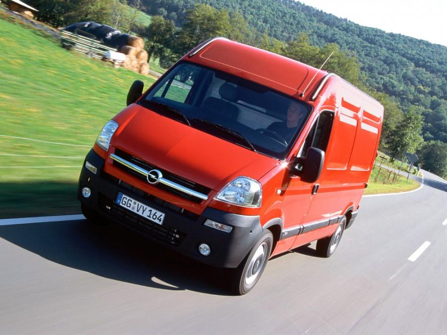 Opel Movano фургон 3-дв., 2003–2010, 1 поколение [рестайлинг] - отзывы, фото и характеристики на Car.ru