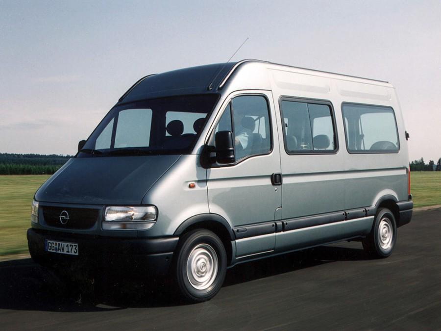Opel Movano Combi фургон 4-дв., 1 поколение - отзывы, фото и характеристики на Car.ru