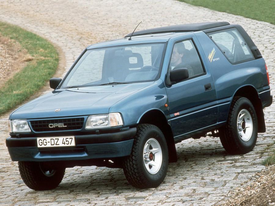 Opel Frontera Sport внедорожник 3-дв., 1992–1998, A - отзывы, фото и характеристики на Car.ru