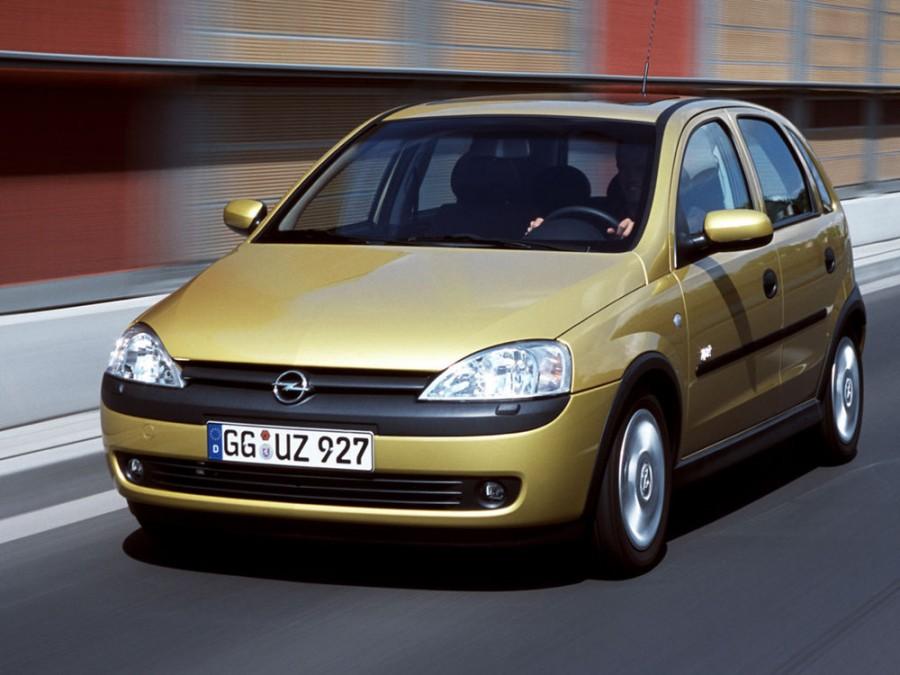 Opel Corsa хетчбэк 5-дв., 2000–2003, C - отзывы, фото и характеристики на Car.ru