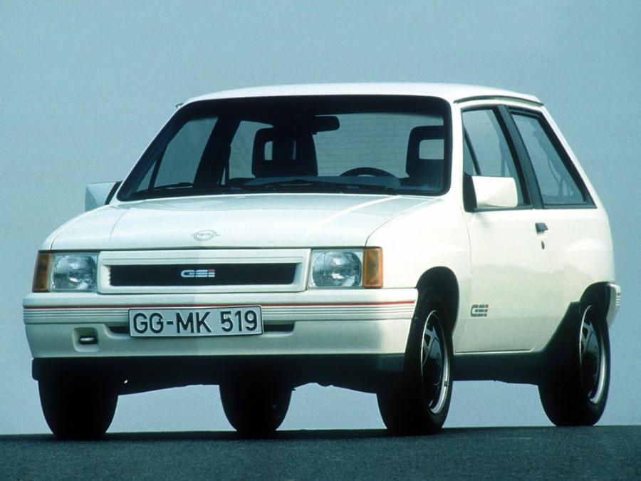 Opel Corsa GSi хетчбэк 3-дв., A [рестайлинг] - отзывы, фото и характеристики на Car.ru