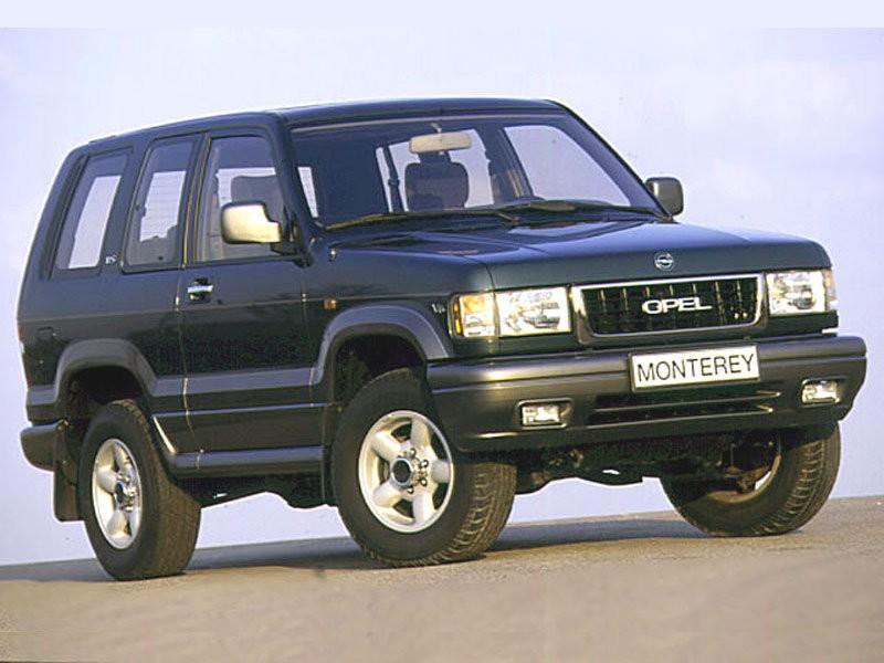 Opel Monterey внедорожник 3-дв., 1992–1998, 1 поколение - отзывы, фото и характеристики на Car.ru