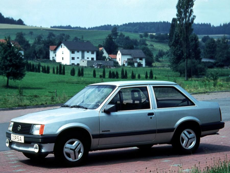 Opel Corsa седан 2-дв., 1982–1993, A - отзывы, фото и характеристики на Car.ru