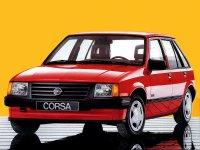 Opel Corsa, A, Хетчбэк 5-дв., 1982–1993