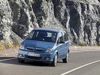 Opel Meriva, 1 поколение [рестайлинг], Минивэн 5-дв., 2004–2010