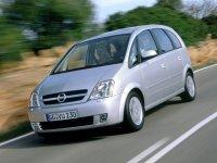Opel Meriva, 1 поколение, Минивэн, 2002–2006