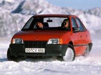 Opel Kadett, E, Седан, 1983–1991