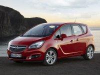 Opel Meriva, 2 поколение [рестайлинг], Минивэн, 2013–2016