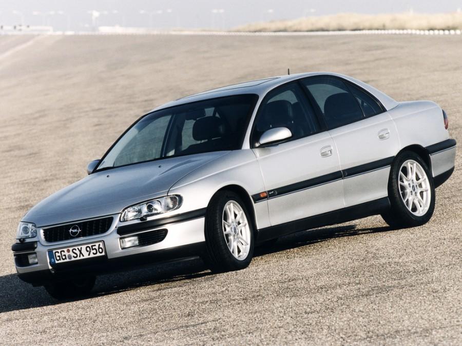 Opel Omega седан, 1994–1999, B - отзывы, фото и характеристики на Car.ru