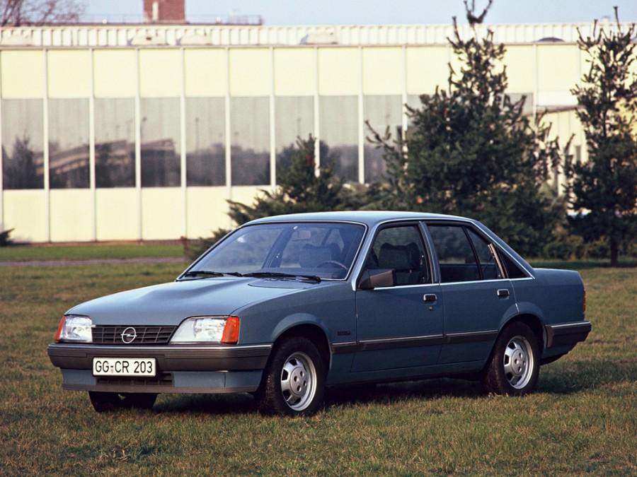 Opel Rekord седан, E [рестайлинг] - отзывы, фото и характеристики на Car.ru