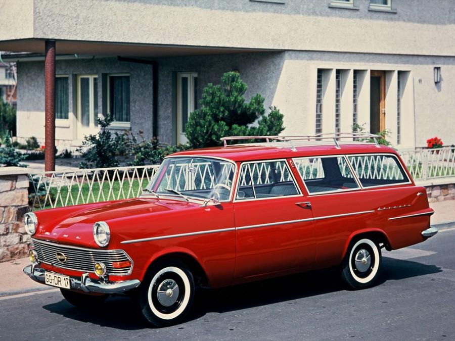 Opel Rekord универсал, P2 - отзывы, фото и характеристики на Car.ru