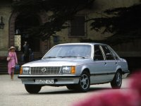 Opel Senator, A, Седан