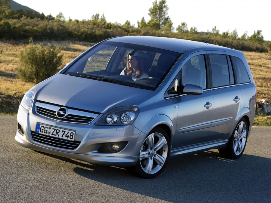 Opel Zafira минивэн, 2008–2015, Family [рестайлинг] - отзывы, фото и характеристики на Car.ru