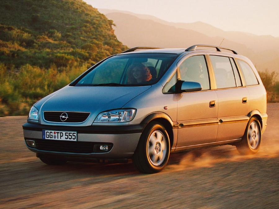 Opel Zafira минивэн 5-дв., 1999–2003, A - отзывы, фото и характеристики на Car.ru