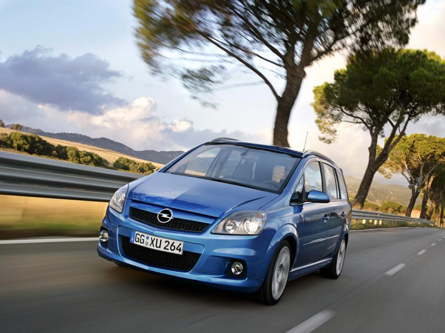Opel Zafira OPC минивэн 5-дв., 2005–2010, B - отзывы, фото и характеристики на Car.ru