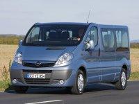 Opel Vivaro, 1 поколение [рестайлинг], Микроавтобус, 2006–2016