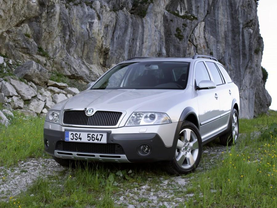 Skoda Octavia Scout универсал 5-дв., 2004–2012, 2 поколение - отзывы, фото и характеристики на Car.ru