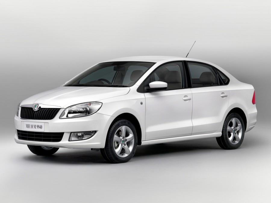 Skoda Rapid седан, 2011–2016, 3 поколение - отзывы, фото и характеристики на Car.ru