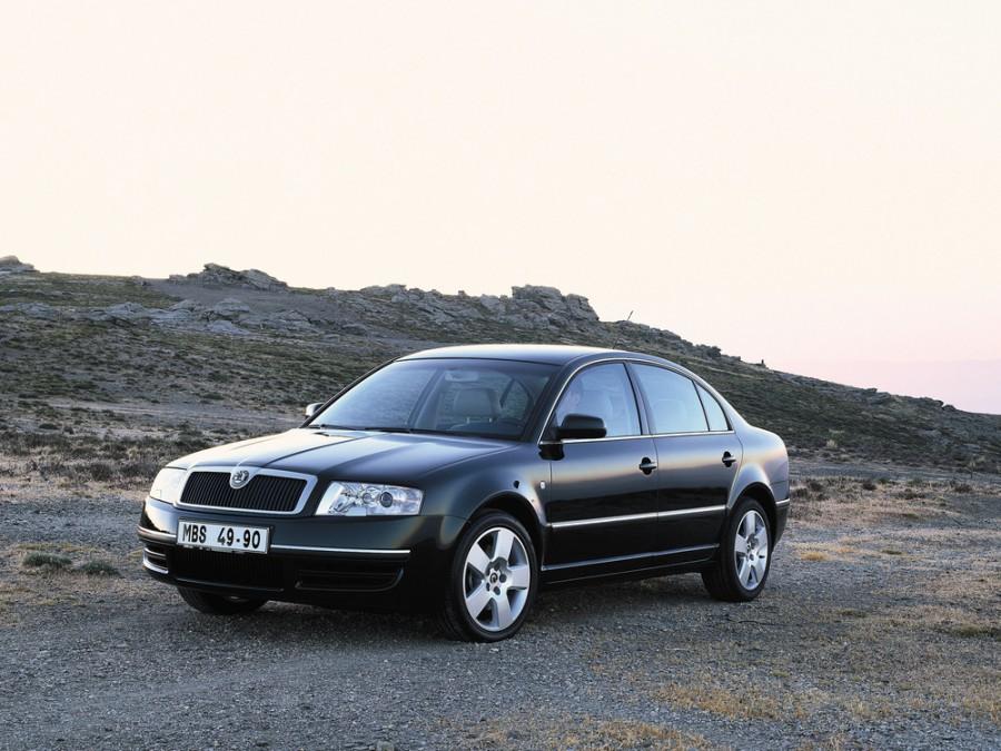 Skoda Superb седан, 2001–2006, 1 поколение - отзывы, фото и характеристики на Car.ru
