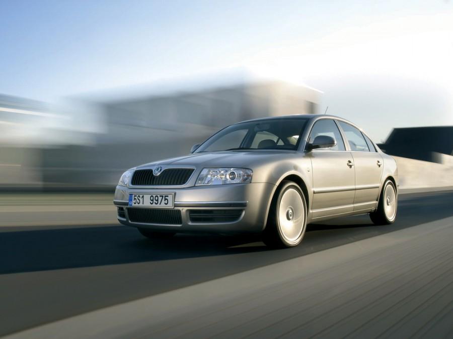 Skoda Superb седан, 2006–2008, 1 поколение [рестайлинг] - отзывы, фото и характеристики на Car.ru