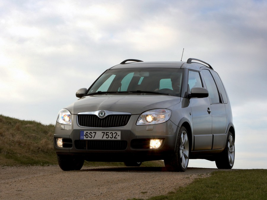 Skoda Roomster Scout минивэн 5-дв., 2006–2010, 1 поколение - отзывы, фото и характеристики на Car.ru