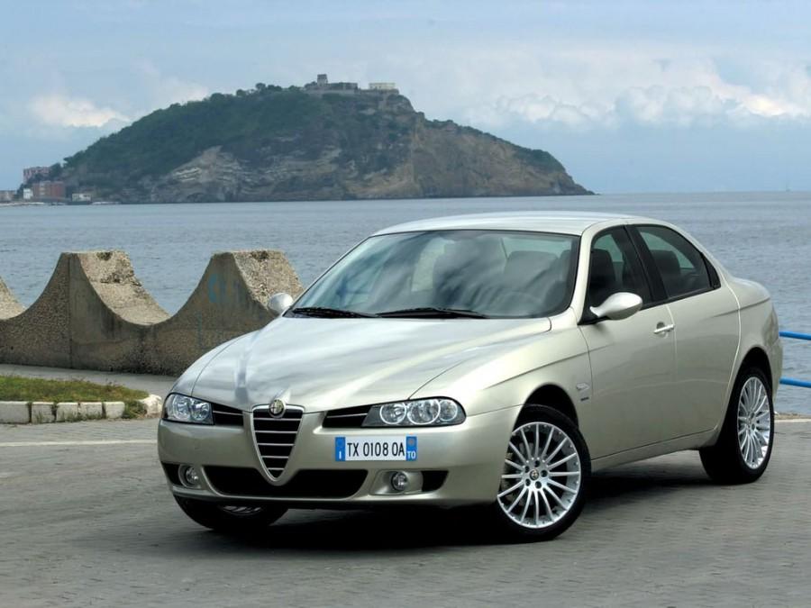 AlfaRomeo 156 седан 4-дв., 2002–2007, 932 [рестайлинг] - отзывы, фото и характеристики на Car.ru