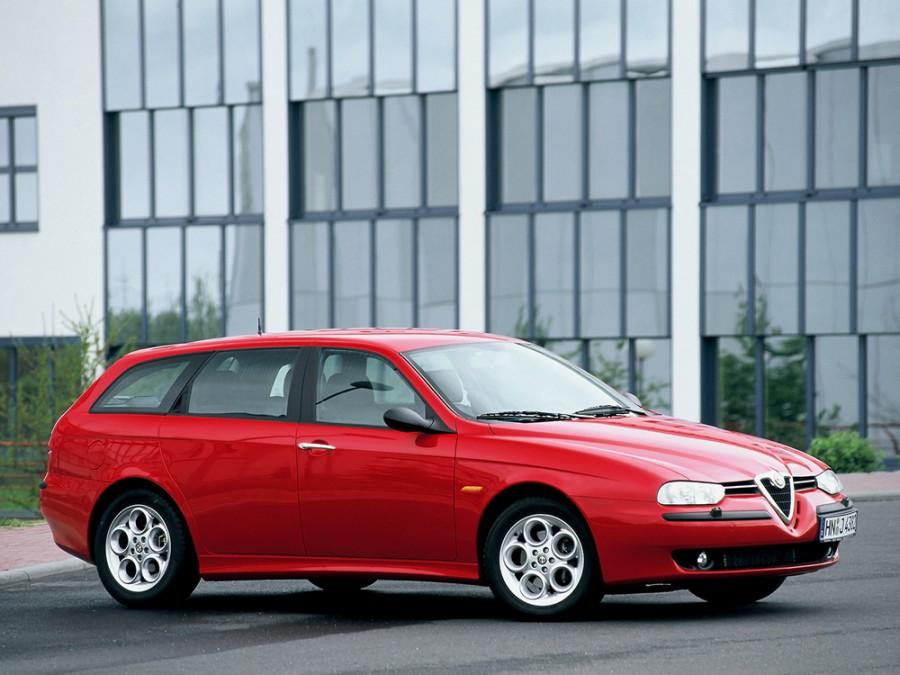 AlfaRomeo 156 универсал, 1997–2007, 932 - отзывы, фото и характеристики на Car.ru