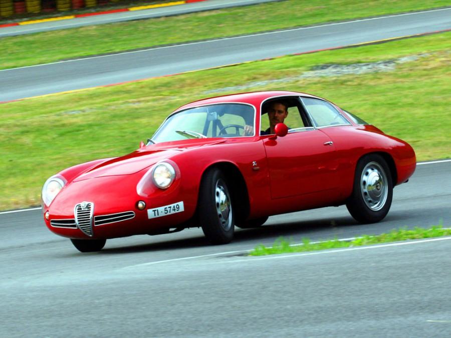 AlfaRomeo Giulietta SZ Coda Tronca купе 2-дв., 1960–1962, 750/101 [2-й рестайлинг] - отзывы, фото и характеристики на Car.ru
