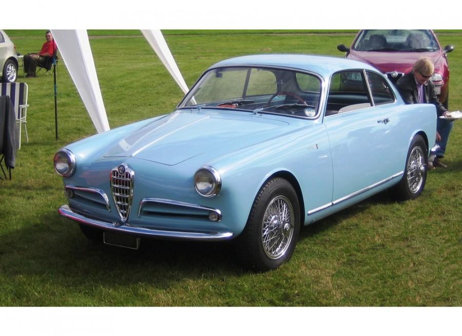 AlfaRomeo Giulietta Sprint купе 2-дв., 1954–1959, 750/101 - отзывы, фото и характеристики на Car.ru
