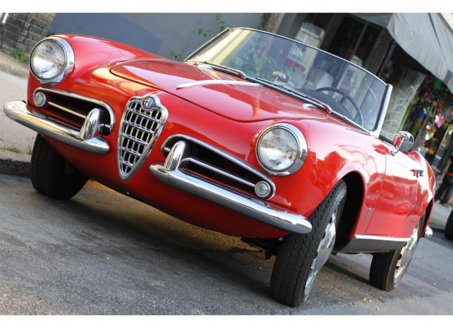 AlfaRomeo Giulietta Spider кабриолет, 1954–1959, 750/101 - отзывы, фото и характеристики на Car.ru