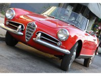 AlfaRomeo Giulietta, 750/101, Spider кабриолет, 1954–1959