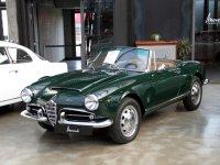 AlfaRomeo Giulietta, 750/101 [рестайлинг], Spider кабриолет, 1959–1962