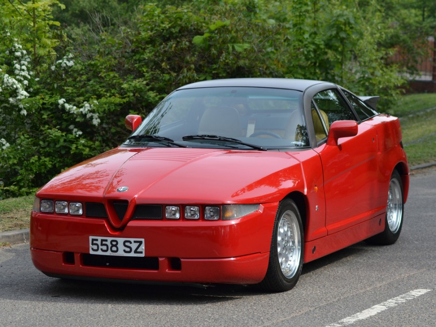 AlfaRomeo S.Z./R.Z. купе, 1988–1994, 1 поколение - отзывы, фото и характеристики на Car.ru