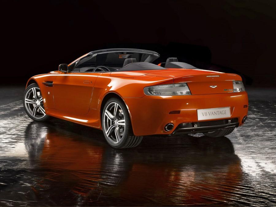 AstonMartin Vantage V8 N400 родстер 2-дв., 2005–2008, 3 поколение - отзывы, фото и характеристики на Car.ru