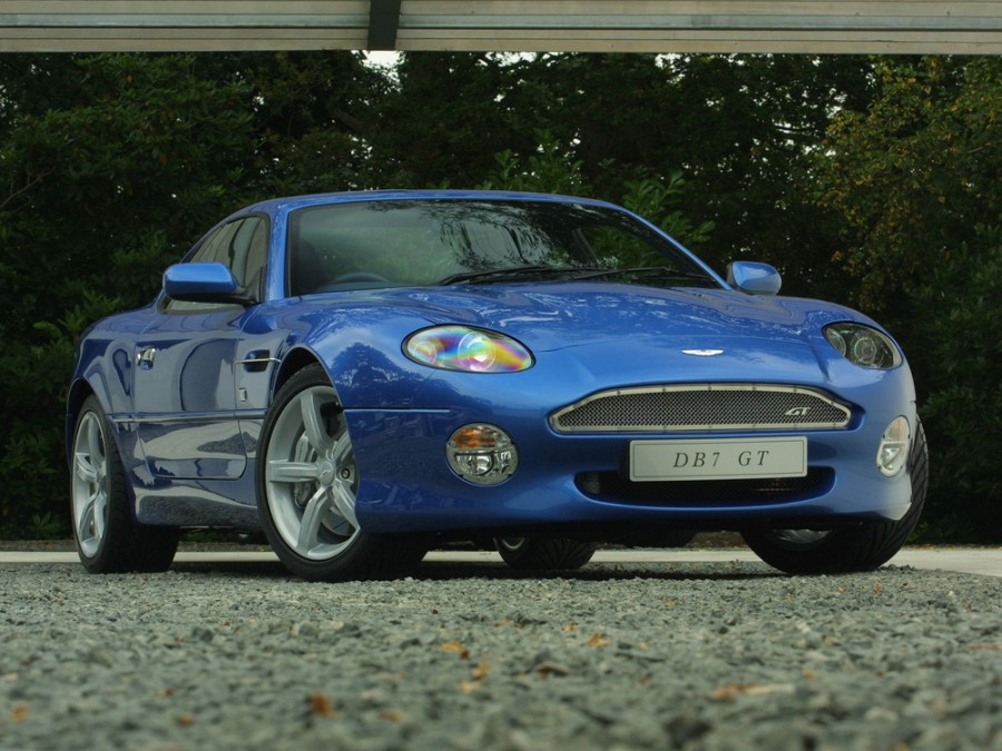 AstonMartin DB7 купе, 2003–2004, GT - отзывы, фото и характеристики на Car.ru