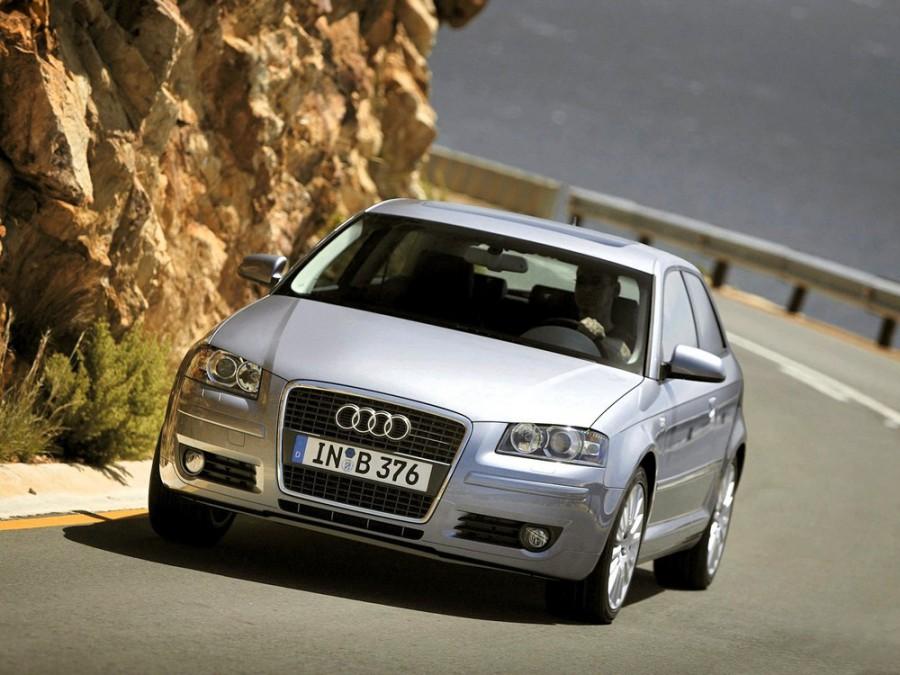 Audi A3 хетчбэк 3-дв., 2004–2008, 8P/8PA [рестайлинг], 1.9 TDI Dpf MT (105 л.с.), характеристики