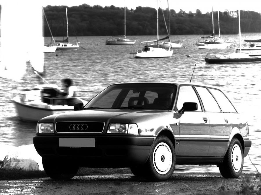Audi 80 универсал, 1991–1996, 8C/B4, 2.0 MT (115 л.с.), характеристики