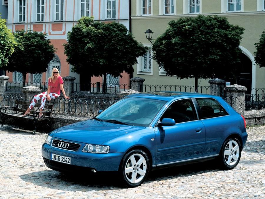 Audi A3 хетчбэк, 2000–2003, 8L [рестайлинг] - отзывы, фото и характеристики на Car.ru